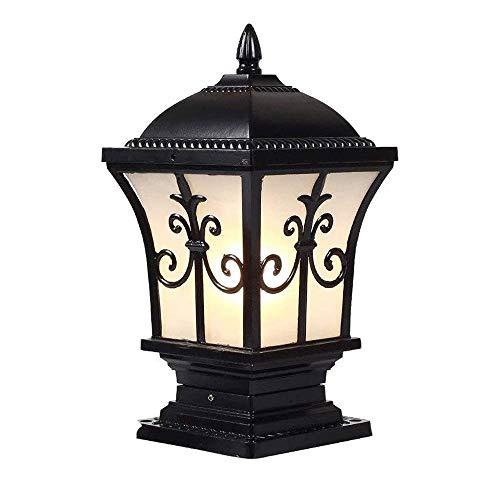 JJZXD Linterna Impermeable Colgante Luces de Vela Patio Césped Decoración de jardín Lámpara al Aire Libre Luces de jardín