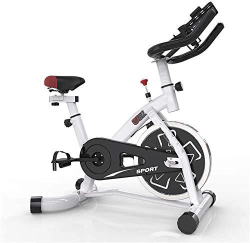 LKK-KK Bicicleta de ejercicio de ciclismo indoor,manillar ajustable del asiento Resistencia,LCD de visualización electrónica Lee Distancia Tiempo etc,Rotar electromagnética de bicicletas for uso domés