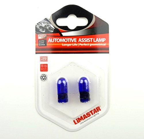 W5W BLUE VISION T10 12V 5W W2,1x9,5d JURMANN® LAMPEN DOPPELBLISTER BLISTER 2 STÜCK