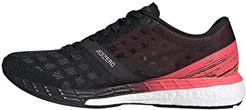 adidas Women's Adizero Boston 9 w Sneaker, Negbás/Negbás/Rossen, 6 UK