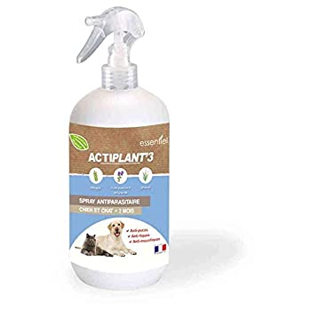ActiPlant'3 - Spray Antiparasitaire pour Chien et Chat - 250ml