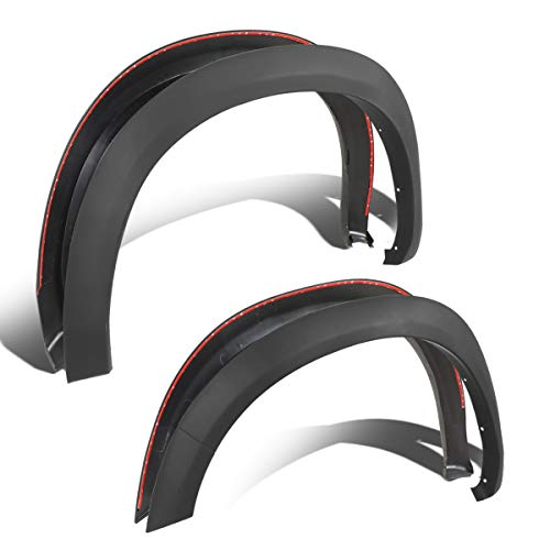 Factory Style Wheel Fender Flare Cover Kit Replacement for Dodge Ram Truck 1500 09-18