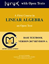 Best first course linear algebra Reviews