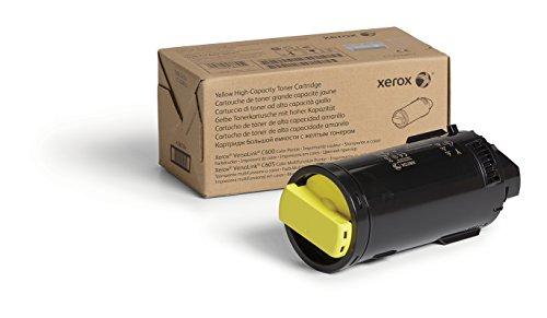 Xerox VersaLink C60X Cartucho de tóner amarillo de alta capacidad (10 100 páginas) - Tóner para impresoras láser (Tóner de láser, 10100 páginas, Amarillo, 1 pieza(s)) 🔥