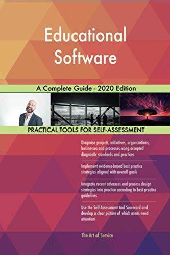 Compare Textbook Prices for Educational Software A Complete Guide - 2020 Edition  ISBN 9780655922179 by Gerardus Blokdyk