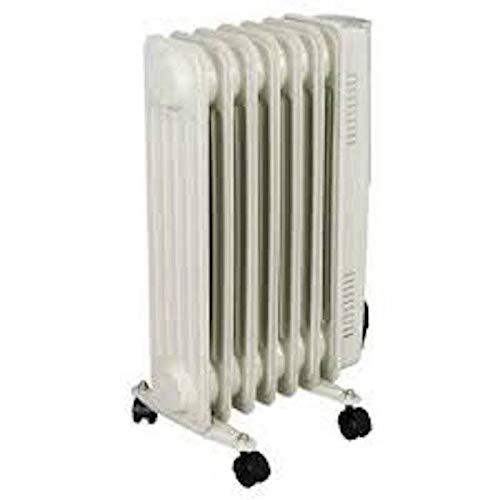 Heatstore 1.5kW Oil Filled Radiator Adjustable thermostat