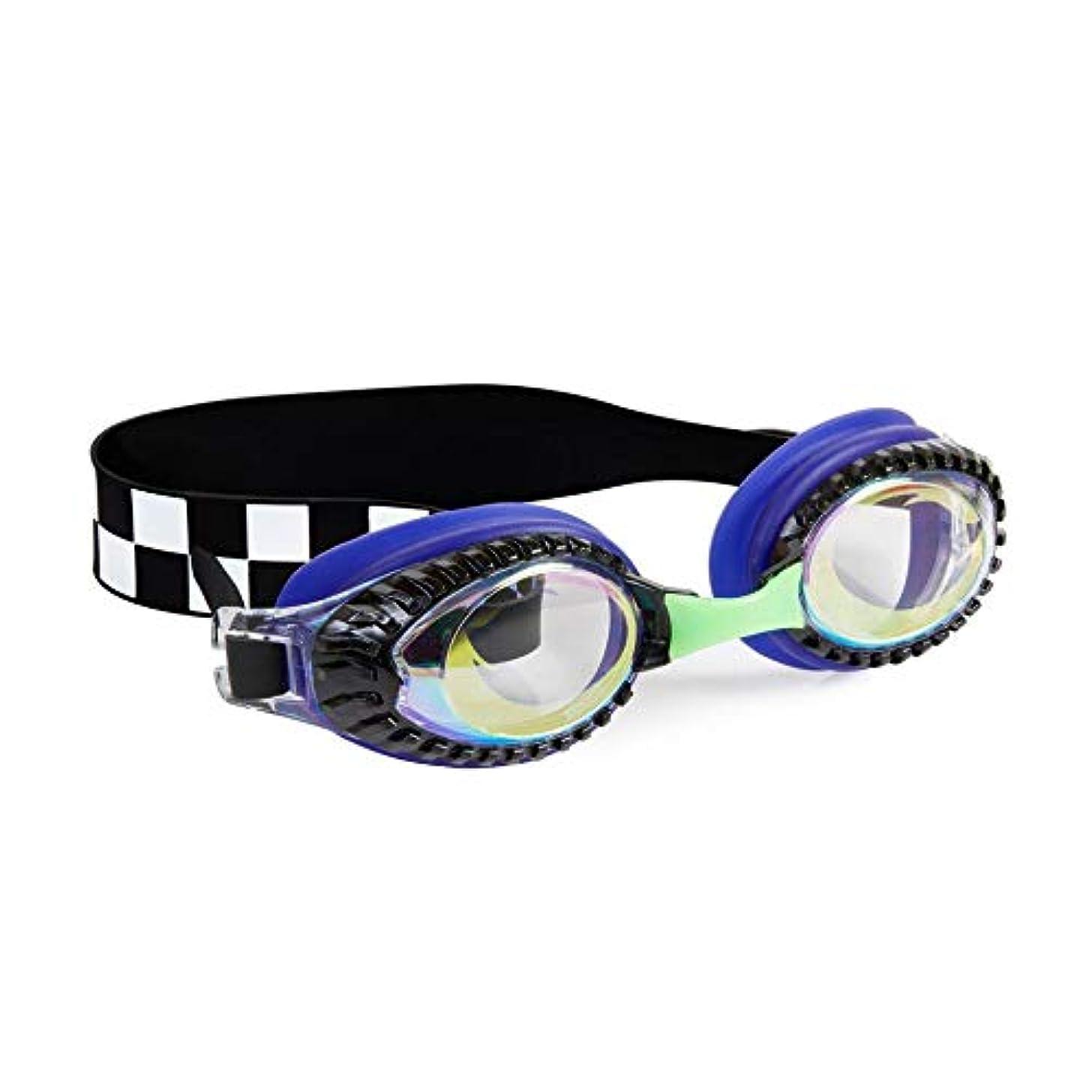 Bling 2O Kids Swimming Goggles - Swim Goggles for Boys - Anti Fog, No Leak, Non Slip, UV Protection with Hard Travel Case - 8+