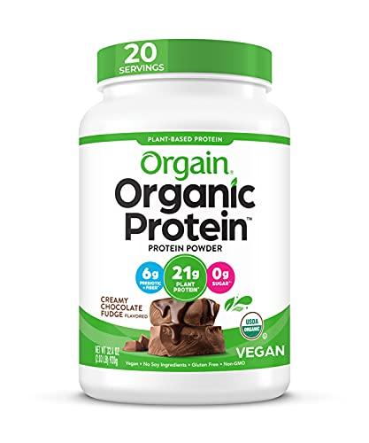 Orgain Organic Plant Based Protein …