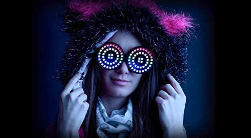 Arcane Lights Rezz Style Fixed price for sale Ranking TOP17 LED Goggles G Animated - Color Full