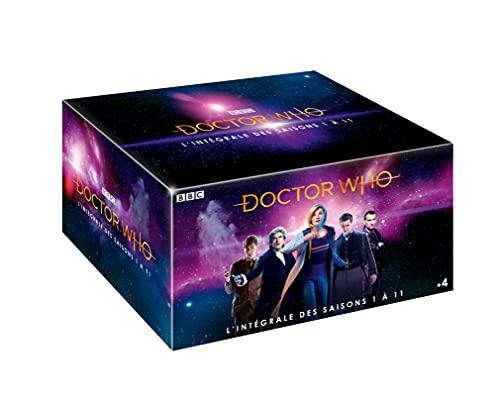 Doctor Who-L'INTEGRALE des Saisons 1 à 11 Inclus 15 épisodes SPÉCIAUX + Le DVD 50ème Anniversaire + 8h de Bonus