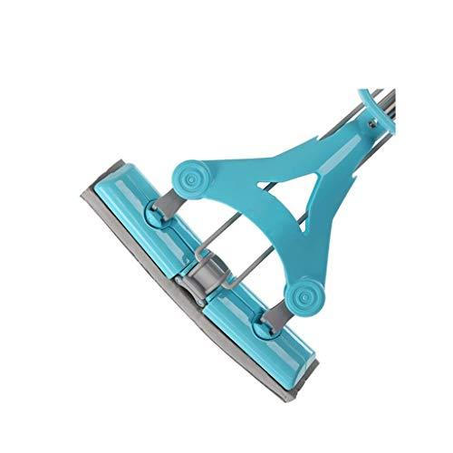 STRAW Limpiador Profesional de Microfibra for fregona de Microfibra Reutilizable con manija Extensible for Pisos de Madera Dura de azulejo