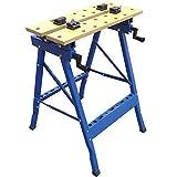LY Tools Tornillo de banco de trabajo ajustable resistente con marco de acero – 150 kg
