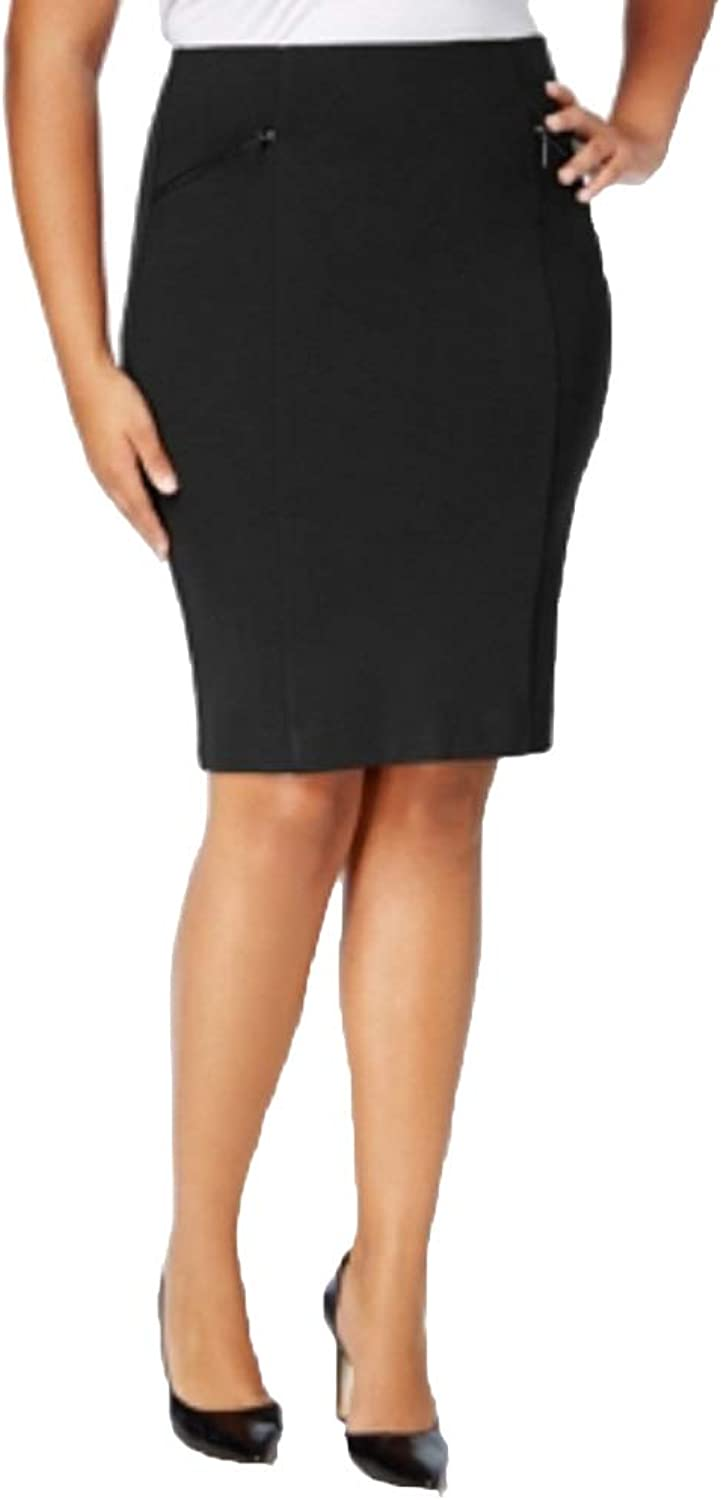 Alfani Plus Size Ponte Pencil Skirt