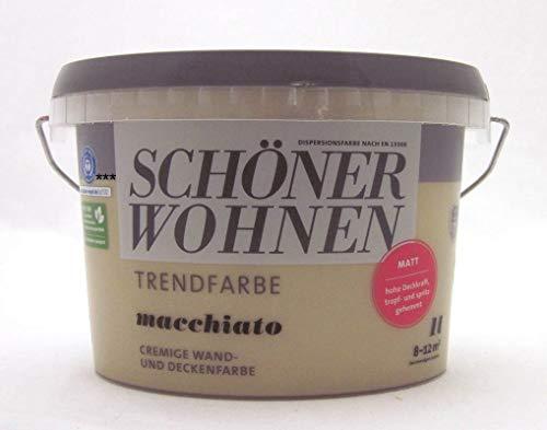 Schöner Wohnen Trendfarben-Macchiato-1 l matt
