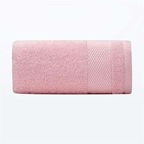 ZHUSHI-MJ Juego De Toallas 100% Algodón Toalla De Mano Toallas De Hogar Resistentes Al Agua Súper Absorbentes (Color : 3pcs Pink)