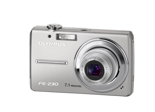 Olympus FE-230 Digitalkamera (7 Megapixel, 3-Fach Opt. Zoom, 6,4 cm (2,5 Zoll) Display)