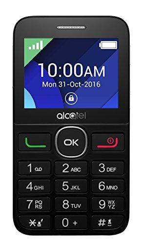"Móvil Alcatel 2008G –fácil de usar, con pantalla de 2.4"" QVGA ,320x240- red 2G, cámara trasera de 2 Mp. 8MB de RAM, 16 MB de ROM, batería de 1400 mAh"