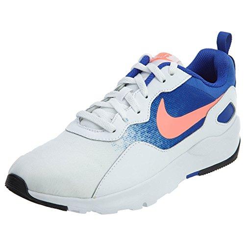 Nike LD Runner Sneakers voor dames, wit/blauw/koraal, maat 40.5 EU