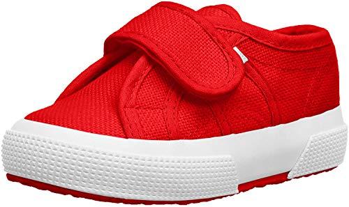 Superga Unisex-Kinder 2750-bstrap Gymnastikschuhe, Rot (Red 975), 24 EU