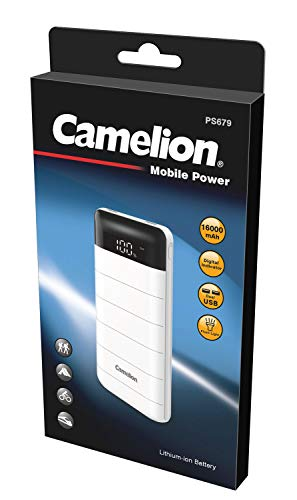Camelion 20200679 powerbank PS679 16000 mAh wit