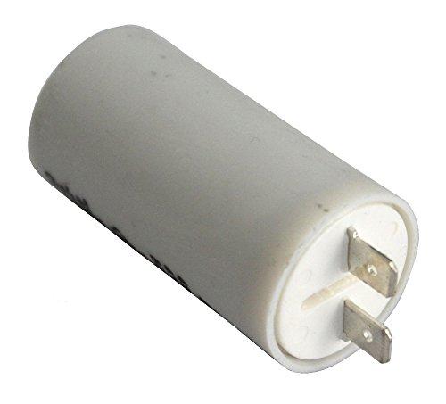 Aerzetix condensator voor motor 4μF 475 V met kabelschoenen, 6,3 mm