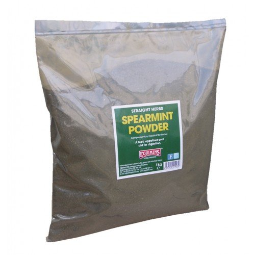 Equimins Unisex's Straight Herbs Spearmint Powder, Clear, Regular
