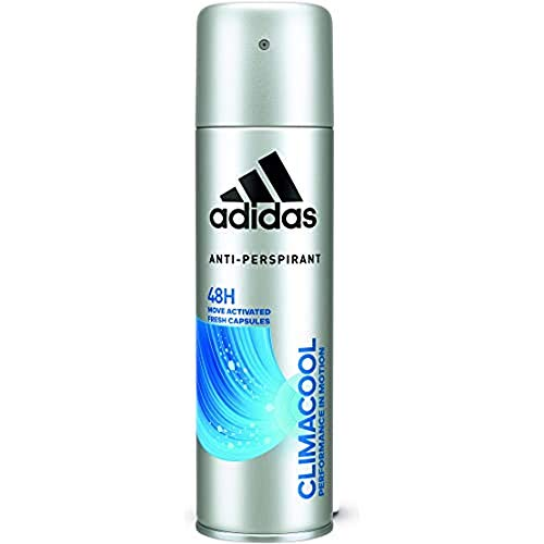 Adidas - Déodorant Anti-Transpirant pour Homme Climacool - Performance in Motion - Anti-Traces Blanches - Protection 48 Heures - Xl 200ml