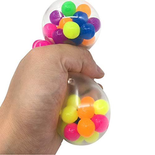 Stress Relief Balls, Squeezing Balls Toys for Kids and Adults Relief and Better Focus,Sensory Squishy Stress Balls