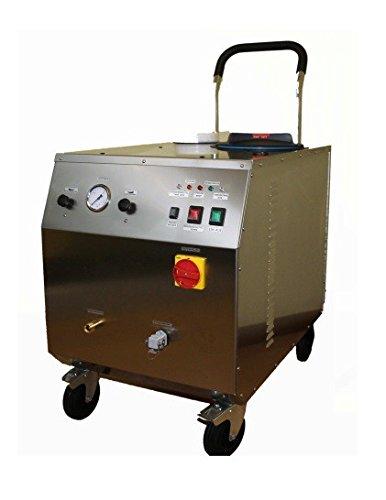 CIMEL Vapor.Net professionele stoomreiniger van roestvrij staal 9 of 18 kW, vermogen: 9000 Watt