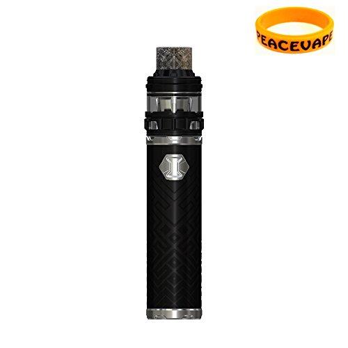 Authentique Eleaf IJUST 3 ELLO Duro 2mL 3000 mAh kit de démarrage IJUST3 (Noir) Cigarette électronique avec PEACEVAPE Vape Band