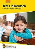 Tests in Deutsch Lernzielkontrollen 3. Klasse