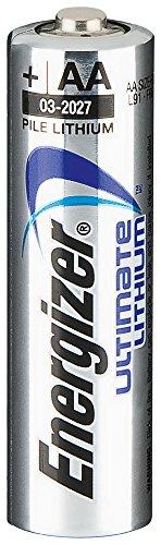 Batterie Lithium Mignon AA Energizer L91 - 4er Blister 50,5 cm