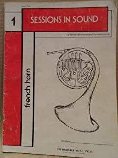 Sessions in Sound (French Horn - Book 1)