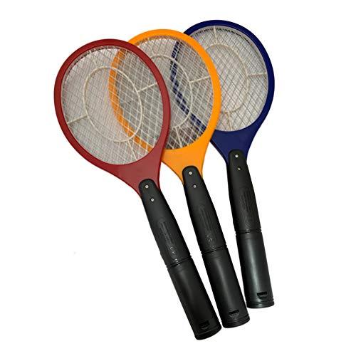 Fliegenklatsche elektrisch extra stark und einfache Handhabung umweltfreundlich ohne Chemie Elektrische Fliegenklatsche Insektenschutz Insektenvernichter umweltfreundlich für Mücken Fliegen Camping