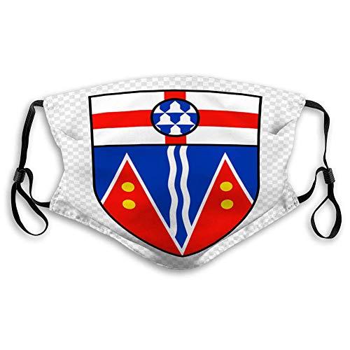 Einstellbares und austauschbares Außenschild-Emblem der Provinz Yukon in Kanada Einheitsgröße
