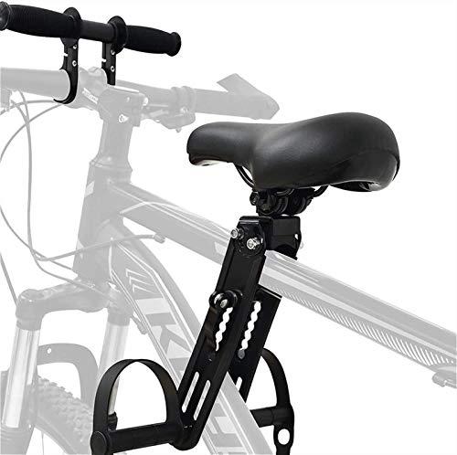Child Bike Seat, Asiento Trasero De Bicicleta Para Niños Pequeños, Respaldo Y Pasamanos Desmontables, Compatible Con La Mayoría De Bicicletas Y Fácil De Instalar ( Color : Child bike seat+handlebar )