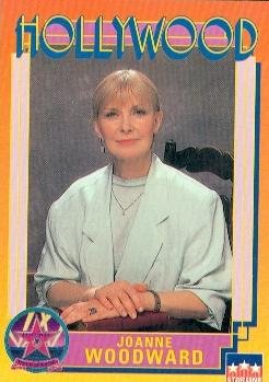 Joanne Woodward trading Card (Actress) 1991 Starline Hollywood Walk of Fame #76