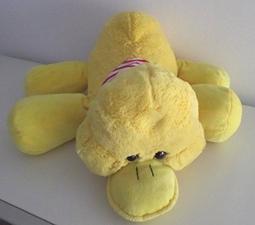 Ente - Plüschente mit Halstuch - liegend - 48 cm