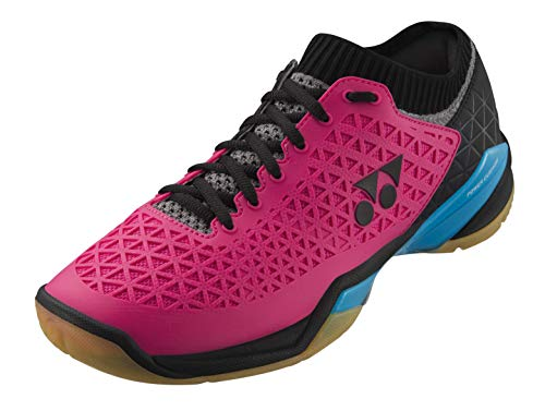 Yonex Chaussures de badminton Power Cushion Eclipsion Z pour homme - Rose - rose bonbon, 44.5 EU