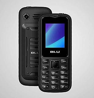 """BLU Tank Mini T650 1.8"""" GSM Unlocked 32MB Dual-SIM Flashlight Cellphone (Black/Gray)"""