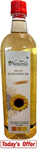 Sunflower Oil (Virgin Cold Pressed) - 915 ML (30.93 OZ) - Certified