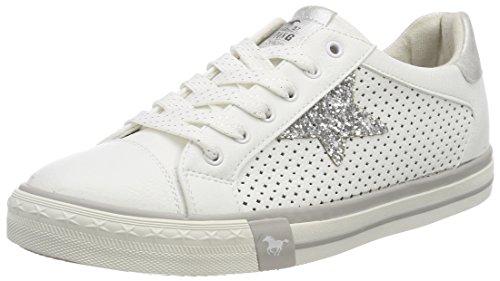 MUSTANG Damen 1146-309-1 Sneaker, Weiß (Weiß 1), 40 EU