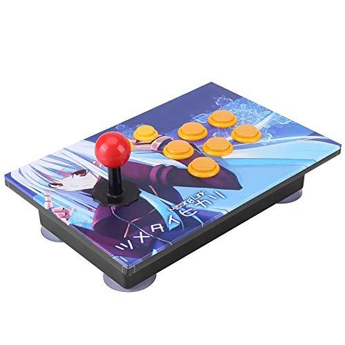 Gancon PCのコンピュータアーケードゲーム用のジョイスティックUSBスティックボタンコントローラの制御装置