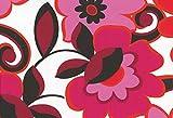 Westfalenstoffe Baumwolldruck mit bunten Blumen in