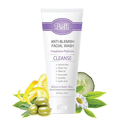 Product Image of the Belli Anti-Blemish Facial Wash – Cleanse Acne-Prone Skin – OB/GYN and...