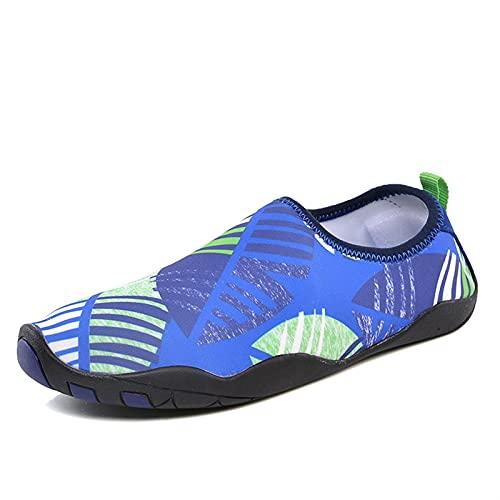 Calzado Deportivo Para Agua Zapatos De Agua Para Hombre, Zapatos De Agua, Zapatos De Playa De Secado Rápido, Zapatillas De Verano Funcionales Para Mujer, Zapatos Cómodos Para Nadar Al Aire Libre, Buce