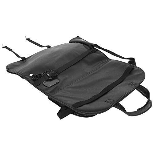 ZHHZ Bolsa para asiento trasero de coche, organizador de almacenamiento multifuncional para colgar accesorios de coche con puerto USB
