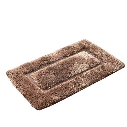 Tapis de cuisine met l'amour en microfibre Tapis Paillasson de salle de bain de salle de bain absorbant Tapis de bain antidérapant Porte Tapis de sol pour chambre à coucher, C, 60*100cm