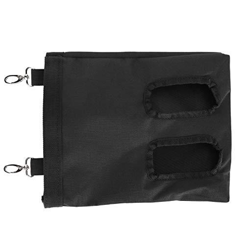 DFGH Feeder-Tasche, Kaninchen-Feeder-Tasche 600D Oxford-Gewebe Hängen Fütterungsgerät Liefern PET-Zubehör Schwarz