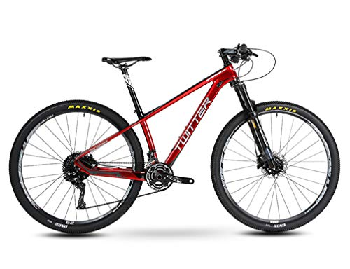Duabobao Mountainbike, heren, meisjes en kinderen, ultra-lichtgewicht koolstofframe, 29 inch, geschikt voor sport, fiets, outdoor, familie, racefiets